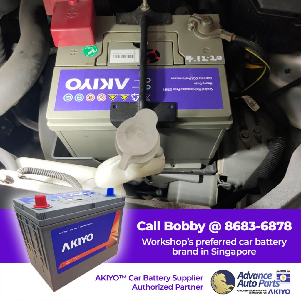 Fast Car Battery Change Service for an Outlander in December 2020