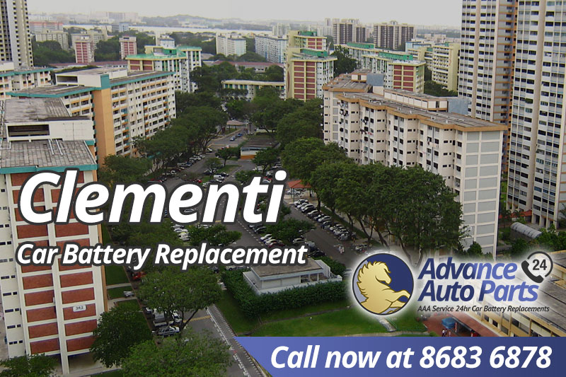 Car Battery Replacement Clementi