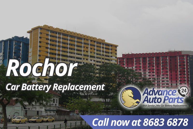 Car Battery Replacement Rochor