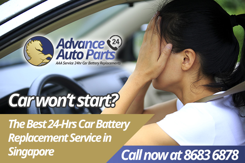 AAP Car Battery Replacement in Singapore