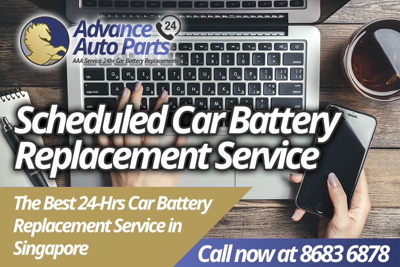 Scheduled Car Battery Replacement Service
