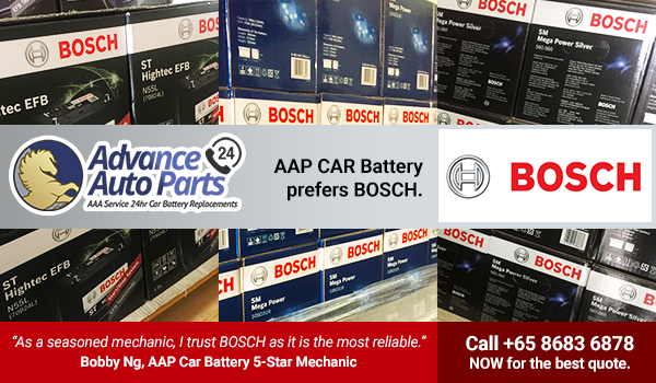 BOSCH Car Batteries Price List (Onsite Replacement)