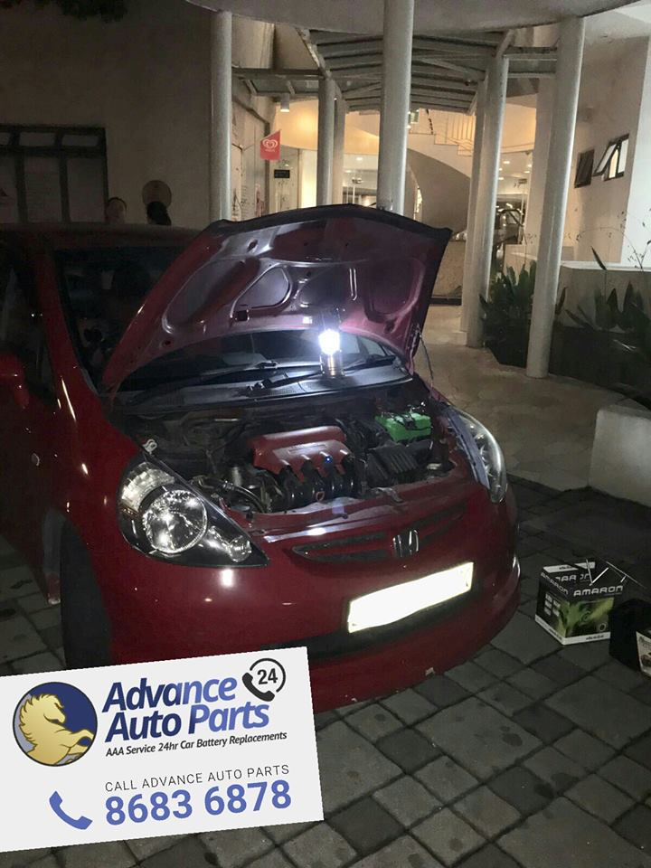 Late Night Car Battery Replacement Service on Fri, 15 July 2016 @ 10:07pm