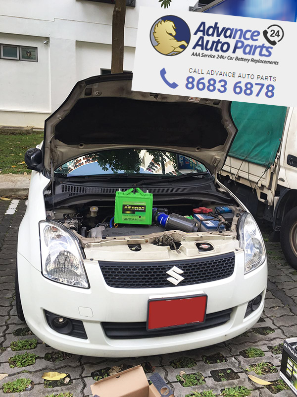 Car Battery Replacement Service on Thurs, 21 July 2016 @ 10:18am