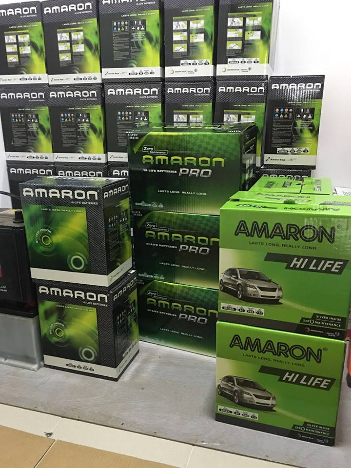 New Amaron Car Battery Supplies on Fri, 15 July 2016