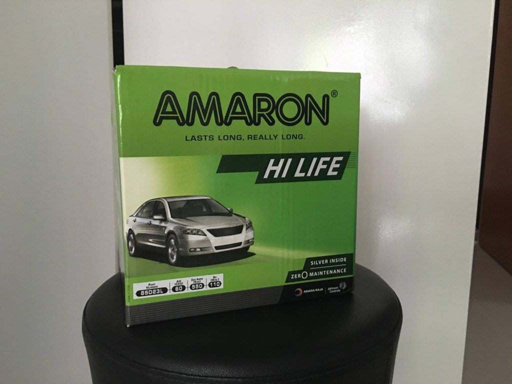 New Amaron Car Battery Supplies