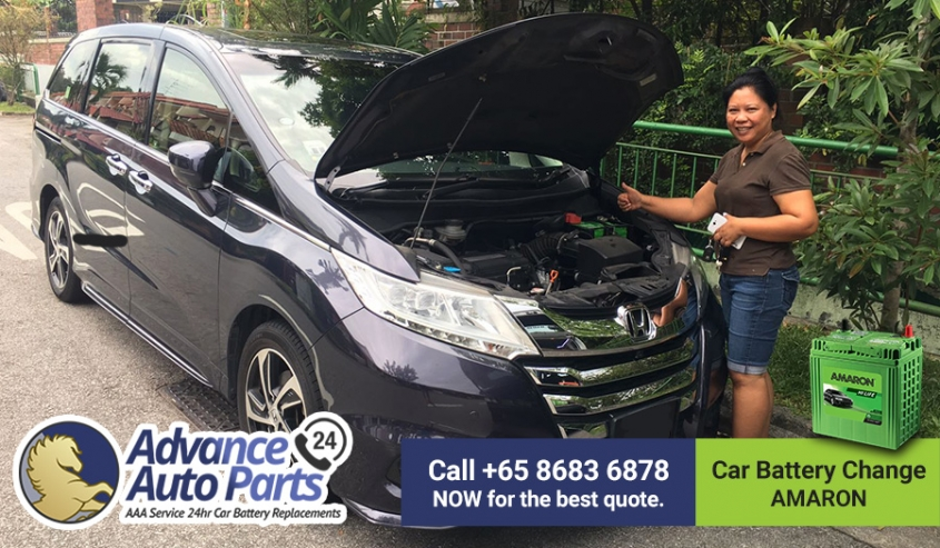 Fast Car Battery Replacement Service on 29 August 2017 @ Morning
