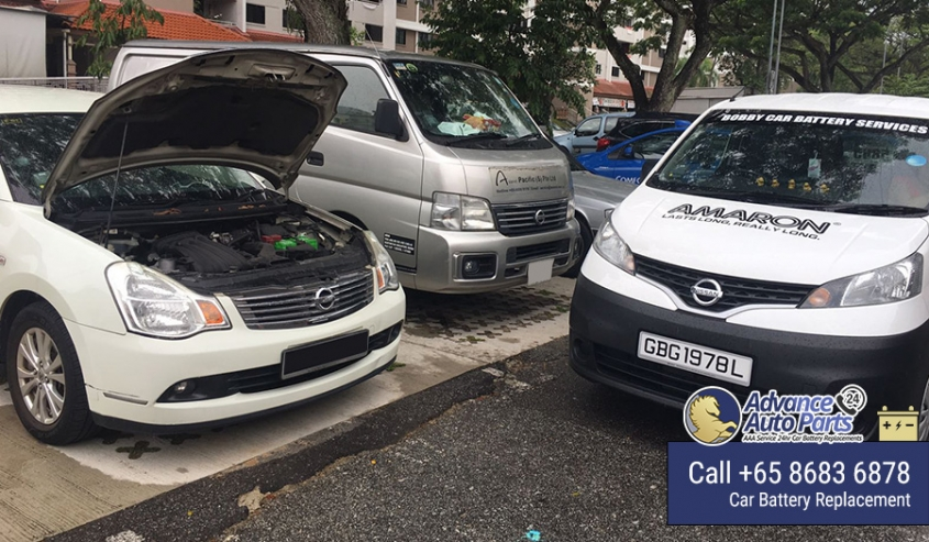 Urgent Car Battery Replacement Service for Nissan Teana