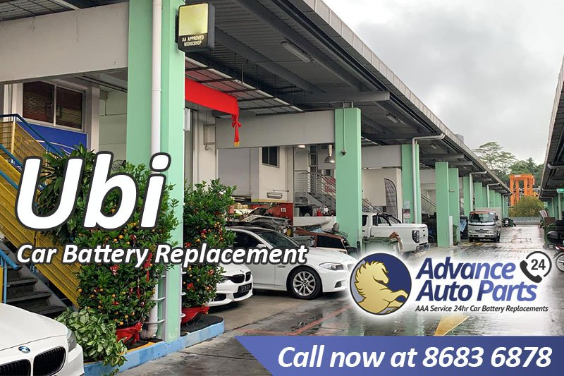 Car Battery Replacement Ubi