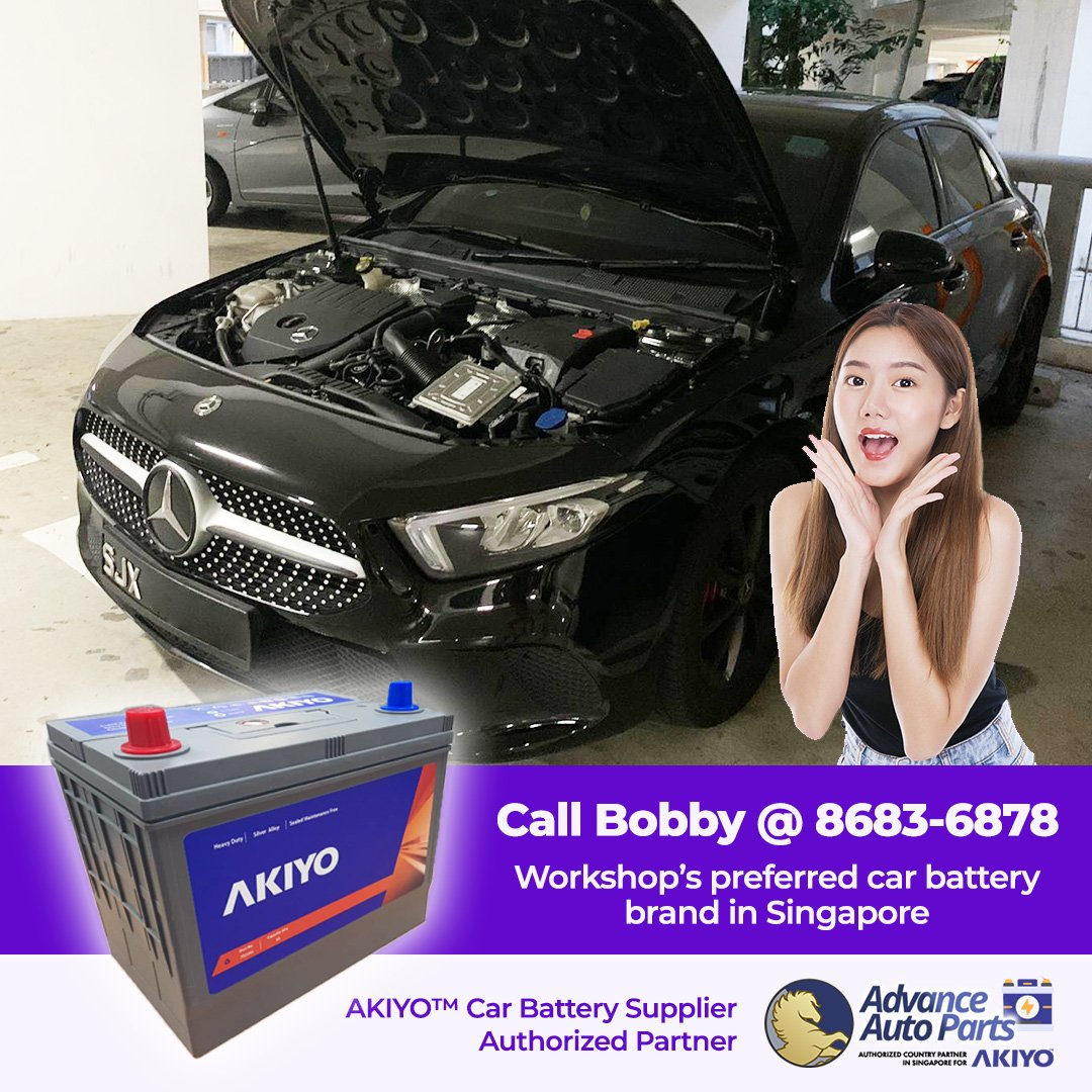 Urgent Car Battery Change Service for a Mercedes-Benz in November 2020