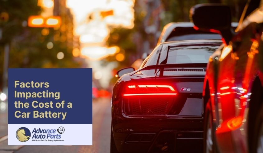 Factors Impacting the Cost of a Car Battery