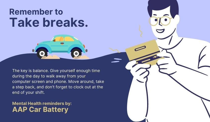 A Mental Health Reminder by AAP Car Battery