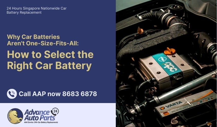 Why Car Batteries Aren't One-Size-Fits-All: How to Select the Right Car Battery